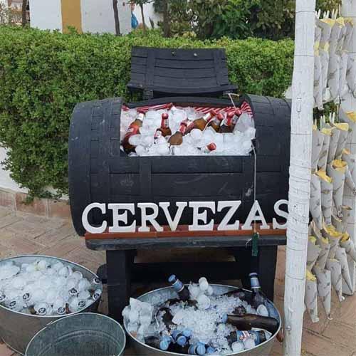 Cervezas Catering Domingo Árias