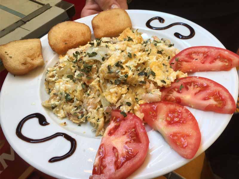 Huevos Rotos Catering Domingo Árias