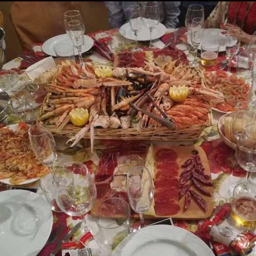 Mesa Quesos Catering Domingo Árias