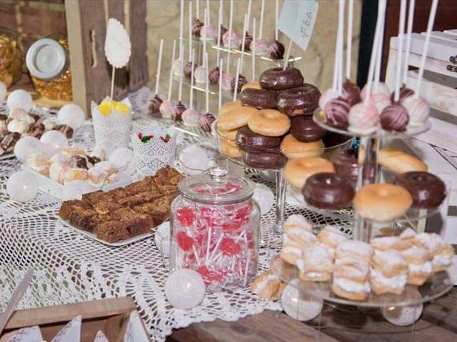 Mesa dulces Catering Domingo Árias