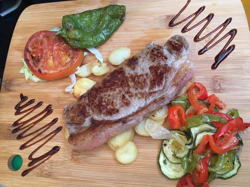 Solomillo Catering Domingo Árias