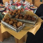 Croquetas de Bacalao Catering Domingo Árias