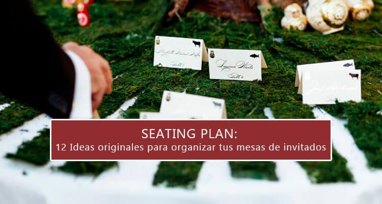 Seating Plan: 12 ideas para organizar mesas de invitados