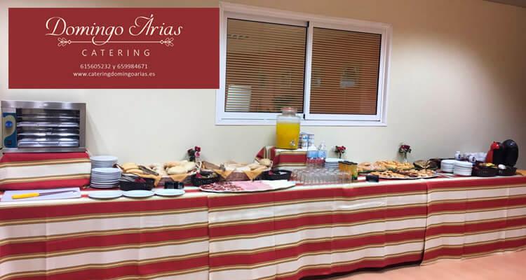 Catering para Empresas Domingo Arias