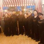 Equipo Catering Domingo Arias en Feria de Sevilla