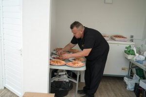 Preparando Catering Domingo Arias Foto Condequinto