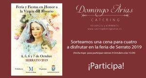 Concurso Cena para 4 en Serrato (Málaga) para la Feria